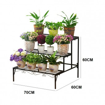 3 Tier Flower Rack Stand Pot Plant Garden Balcony 0142