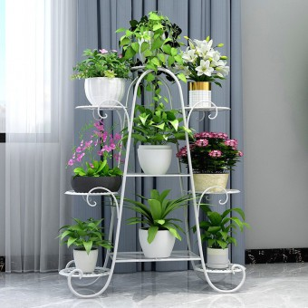 9 Tier Flower Rack Pot Plant Stand 0149