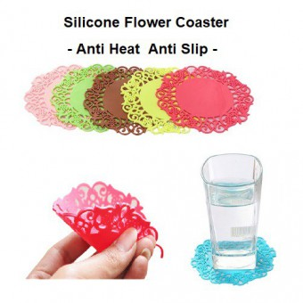 Flower Silicone Coaster Cup Coaster Table Mat 4073